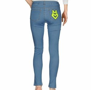 Moschino Jeans with Furry Pocket
